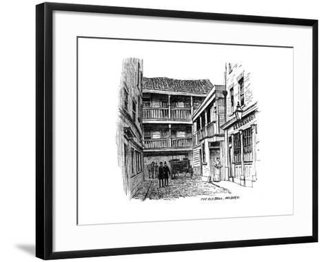 The Old Bell Coaching Inn, Holborn, London, 1887--Framed Art Print