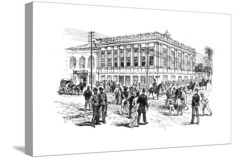 The Senate House, Rio De Janeiro, Brazil, 1892--Stretched Canvas Print
