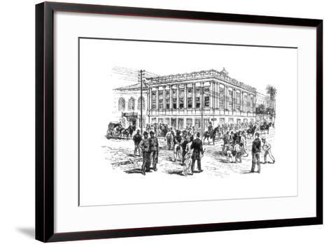 The Senate House, Rio De Janeiro, Brazil, 1892--Framed Art Print