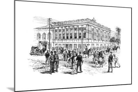 The Senate House, Rio De Janeiro, Brazil, 1892--Mounted Giclee Print