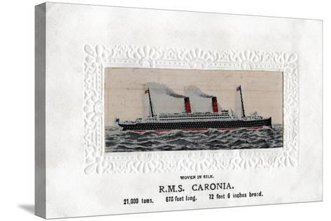 RMS Caronia, 20th Century--Stretched Canvas Print