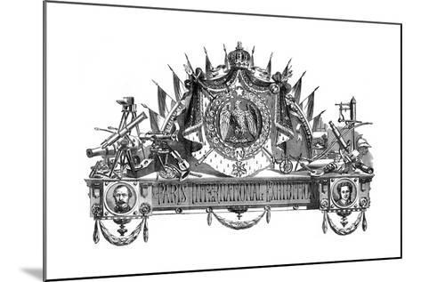 Emblem of the Paris International Exhibition, 1867--Mounted Giclee Print