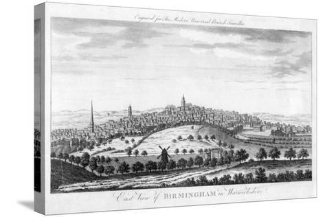 East View of Birmingham in Warwickshire, 1779--Stretched Canvas Print