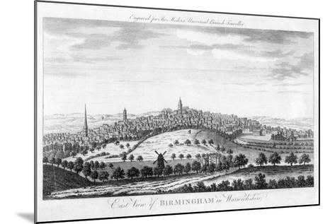 East View of Birmingham in Warwickshire, 1779--Mounted Giclee Print