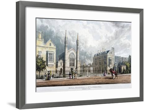St Katherine's Hospital, Regent's Park, London, 1828--Framed Art Print