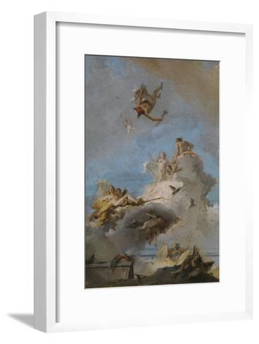 The Triumph of Venus, Between 1762 and 1765-Giandomenico Tiepolo-Framed Art Print