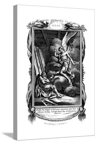 Joseph's Dream: Behold, the Angel of the Lord Appeared Unto Him in a Dream, 1804--Stretched Canvas Print