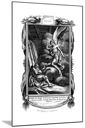 Joseph's Dream: Behold, the Angel of the Lord Appeared Unto Him in a Dream, 1804--Mounted Giclee Print