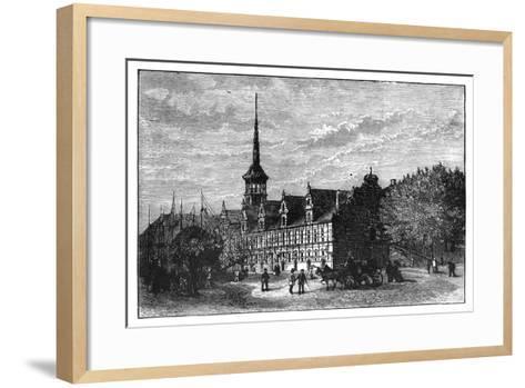 The Exchange, Copenhagen, Denmark--Framed Art Print