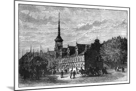 The Exchange, Copenhagen, Denmark--Mounted Giclee Print