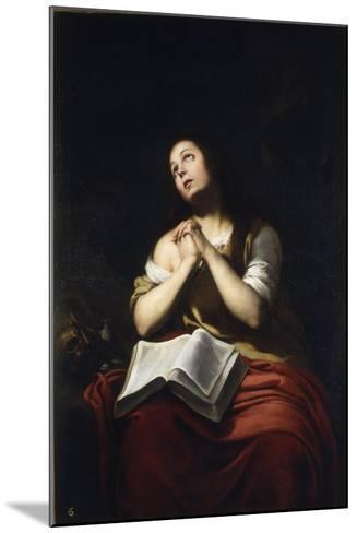 The Repentant Mary Magdalene-Bartolom? Esteb?n Murillo-Mounted Giclee Print