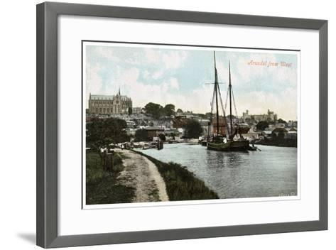 Arundel, Sussex, Early 20th Century--Framed Art Print