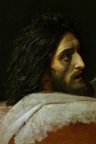 The Head of Saint John the Baptist, End 1830S-Alexander Andreyevich Ivanov-Stretched Canvas Print