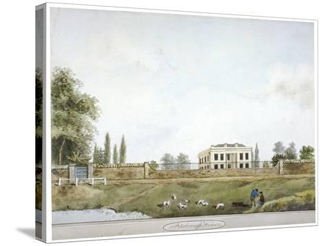 Peterborough House, Millbank, Westminster, London, C1805--Stretched Canvas Print