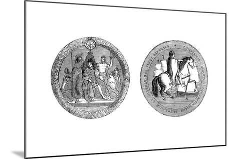The Great Seal of King William IV, C1895--Mounted Giclee Print