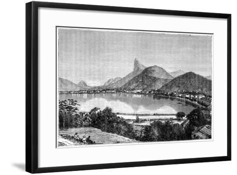Harbour of Rio De Janeiro, 1898--Framed Art Print