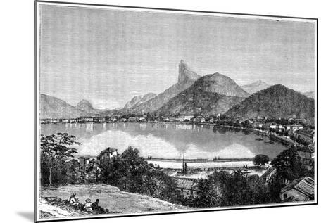 Harbour of Rio De Janeiro, 1898--Mounted Giclee Print