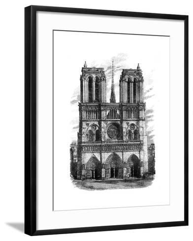 Notre Dame, Paris, C1888--Framed Art Print