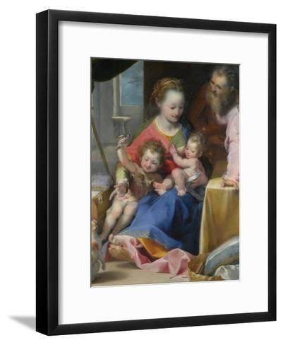 The Madonna of the Cat (La Madonna Del Gatt), Ca. 1575-Federigo Barocci-Framed Art Print