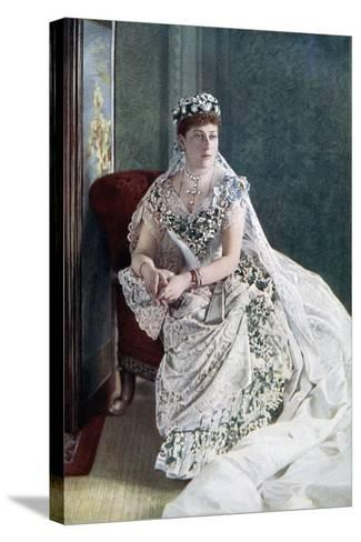Princess Beatrice, Late 19th-Early 20th Century-W&d Downey-Stretched Canvas Print