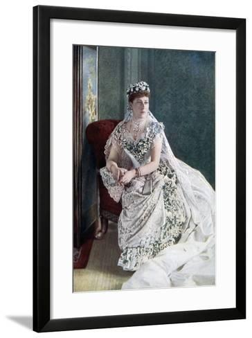 Princess Beatrice, Late 19th-Early 20th Century-W&d Downey-Framed Art Print