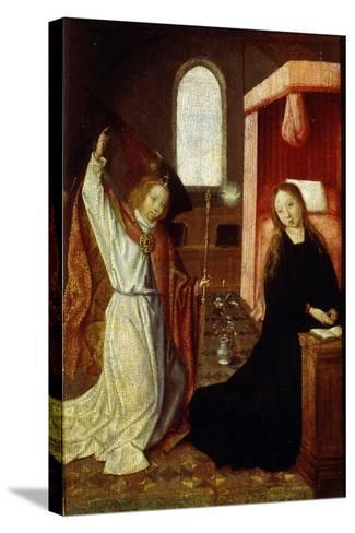 The Annunciation, Early 16th Century--Stretched Canvas Print