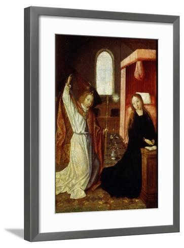 The Annunciation, Early 16th Century--Framed Art Print