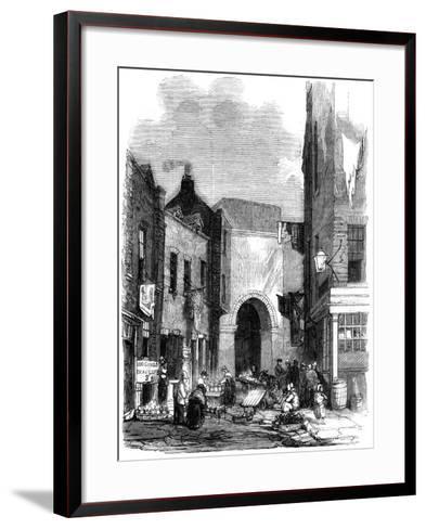 Water Tank in St Giles's in the Fields, London, 1858--Framed Art Print