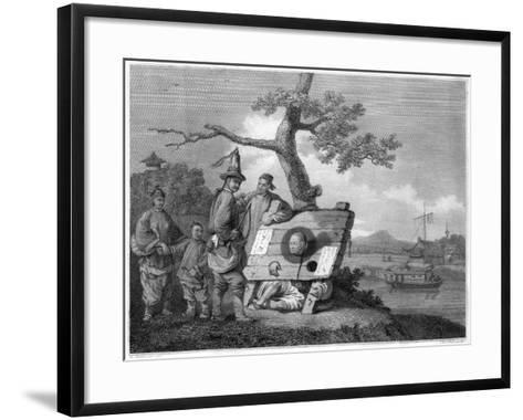 Punishment of the Tcha, China, 1796- Hall-Framed Art Print
