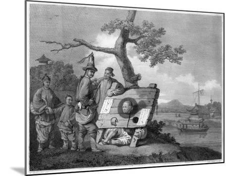Punishment of the Tcha, China, 1796- Hall-Mounted Giclee Print