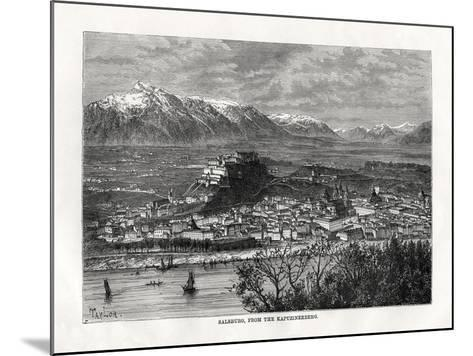Salsburg, from the Kapuzinerberg, Austria, 19th Century-Taylor-Mounted Giclee Print