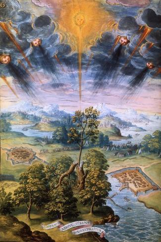 Voyage Dans Les Pouilles, 16th Century--Stretched Canvas Print