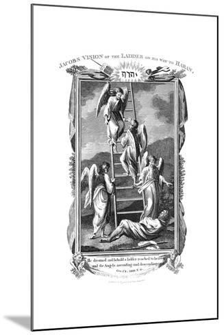 Jacob's Dream of Angels Ascending and Descending the Ladder to Heaven, C1808--Mounted Giclee Print