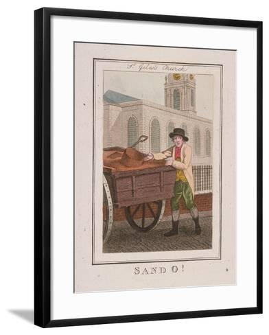 Sand O!, Cries of London, 1804-William Marshall Craig-Framed Art Print