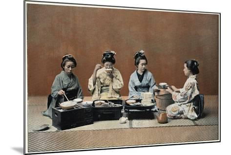 A Dining Room, C1890--Mounted Giclee Print