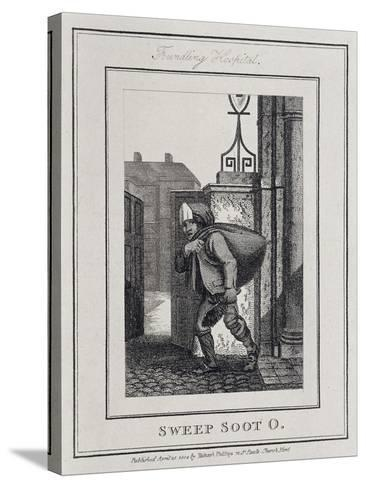 Sweep Soot O, Cries of London, 1804-William Marshall Craig-Stretched Canvas Print