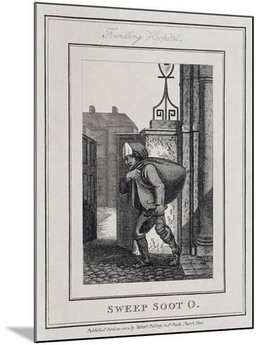 Sweep Soot O, Cries of London, 1804-William Marshall Craig-Mounted Giclee Print