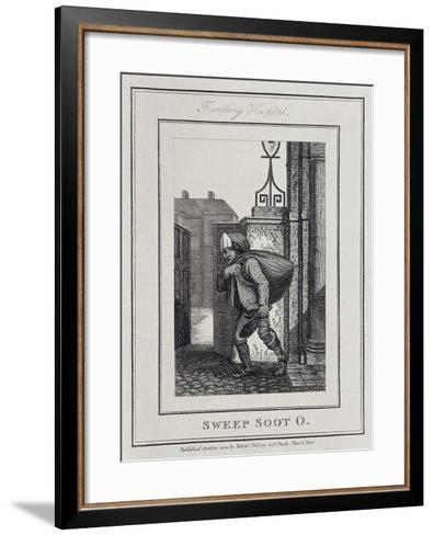 Sweep Soot O, Cries of London, 1804-William Marshall Craig-Framed Art Print