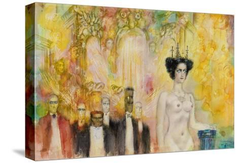 The Satan's Ball, 1989-Gennady Kalinovsky-Stretched Canvas Print