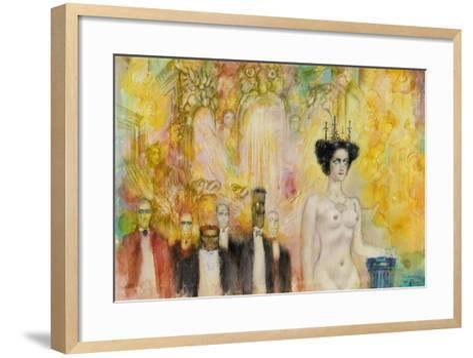 The Satan's Ball, 1989-Gennady Kalinovsky-Framed Art Print