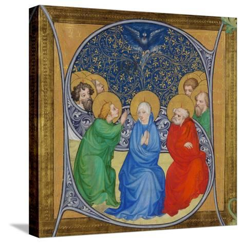 The Descent of the Holy Spirit (Pentecos), 1415--Stretched Canvas Print