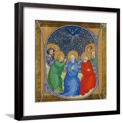 The Descent of the Holy Spirit (Pentecos), 1415--Framed Art Print