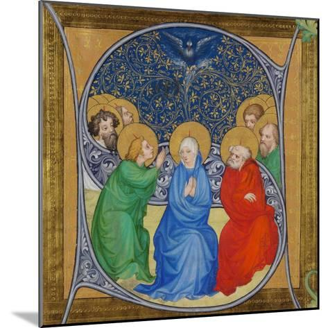 The Descent of the Holy Spirit (Pentecos), 1415--Mounted Giclee Print