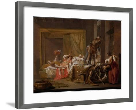 Company in a Brothel (Messalina Und Gaius Siliu), 1655-Nicolaes Knüpfer-Framed Art Print