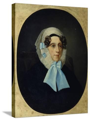 Portrait of Countess Alexandra Alexandrovna Golitsyna--Stretched Canvas Print