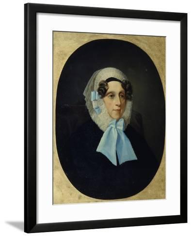 Portrait of Countess Alexandra Alexandrovna Golitsyna--Framed Art Print