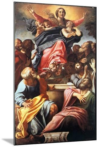 The Assumption of the Blessed Virgin Mary, 1600-1601-Annibale Carracci-Mounted Giclee Print