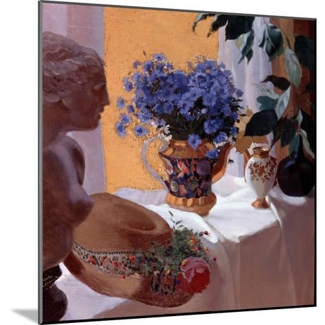 Still Life, 1916-Sergei Vasilievich Chekhonin-Mounted Giclee Print