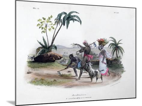 Gardeners, 1828- Marlet et Cie-Mounted Giclee Print