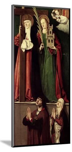 Catholic Monarchs with Saints Helena and Barbara--Mounted Giclee Print